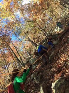 blood rock climb