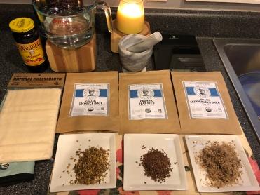 Herb set up